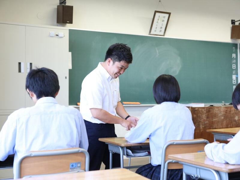 目標達成に向けた教育指導